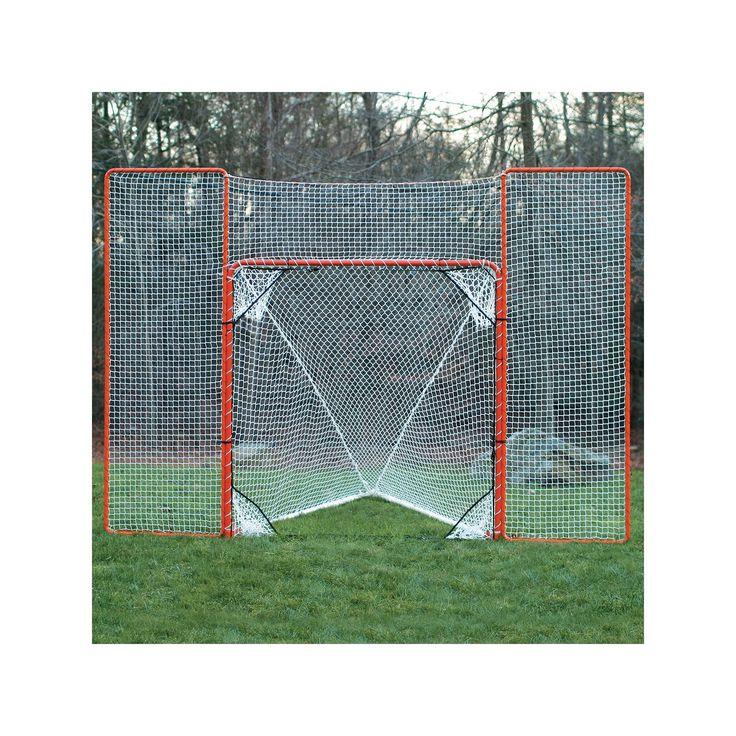 EZ Goal Lacrosse Rebounder Backstop, Multicolor
