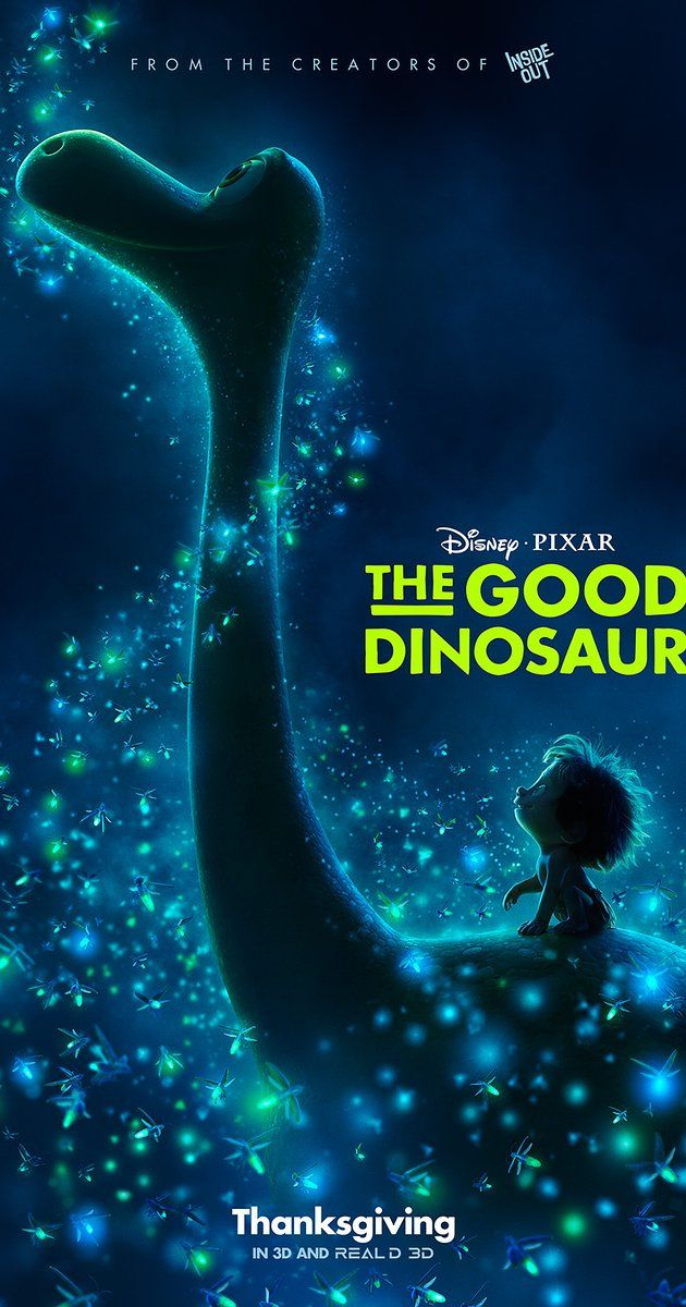 Directed by Peter Sohn.  With Raymond Ochoa, Jeffrey Wright, Steve Zahn, A.J. Buckley. An epic journey into the world of dinosaurs where an Apatosaurus named Arlo makes an unlikely human friend.