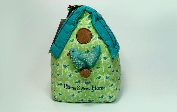 Фиксатор для двери птичка в домике