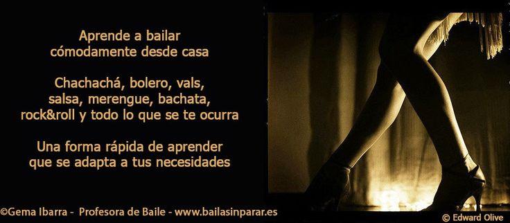 CV Gema Ibarra - Profesora de Baile en Madrid - Clases particulares