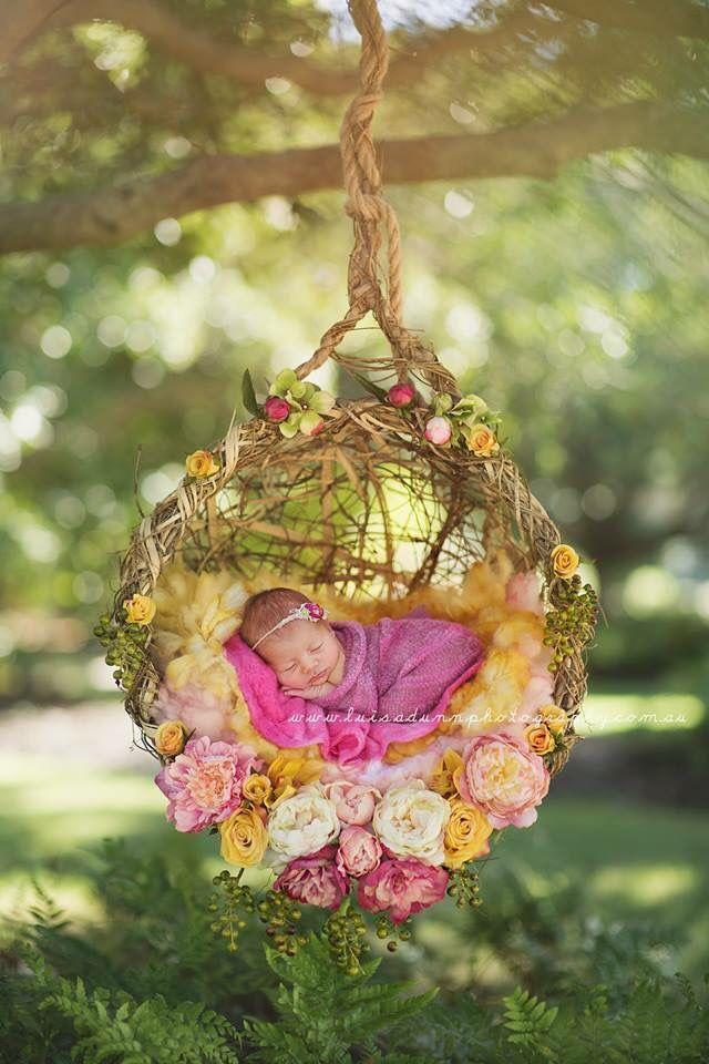 Newborn swing basket