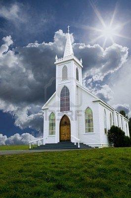 Historic Saint Teresa of Avila church in Bodega, California built in 1859. | Wonderful Places