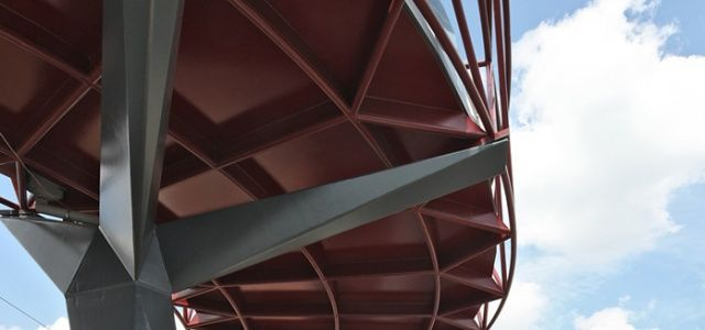 West 8 Urban Design & Landscape Architecture / projects / Pedestrian bicycle bridge Aarschot
