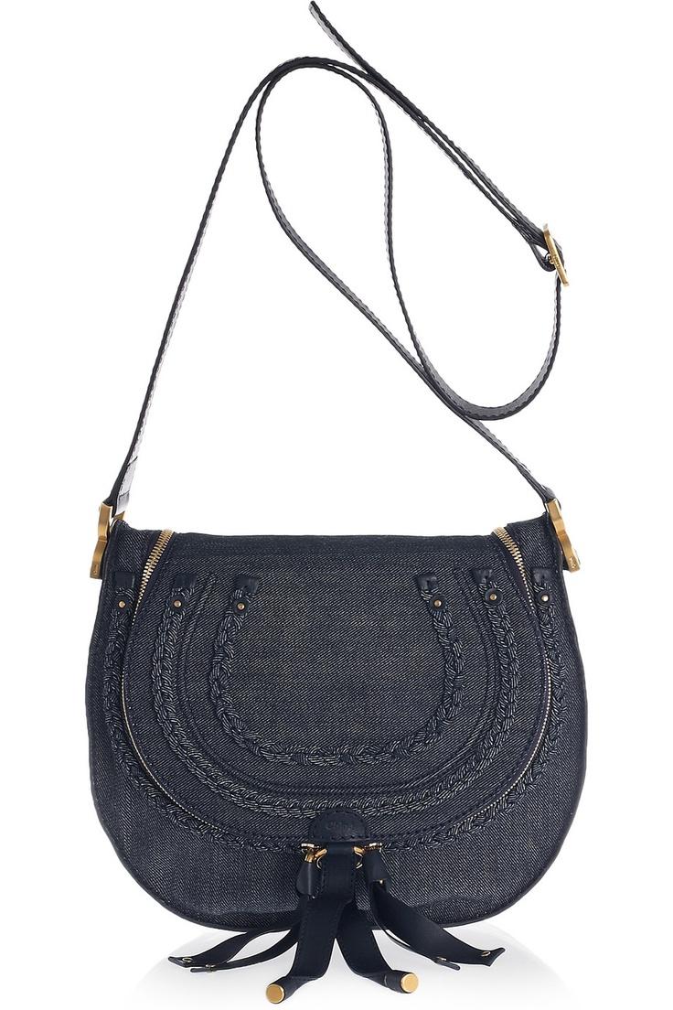 Chloe Marcie Denim Shoulder Bag, Another must have for summer!