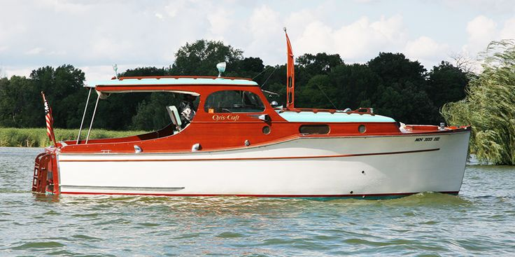 1936 28' Chris Craft Classic Cabin Cruiser