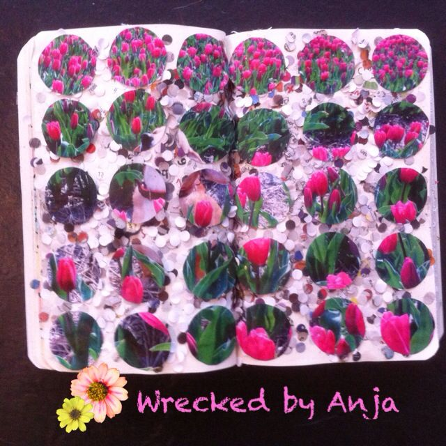 Fill this page with circles - Wrecked by Anja
