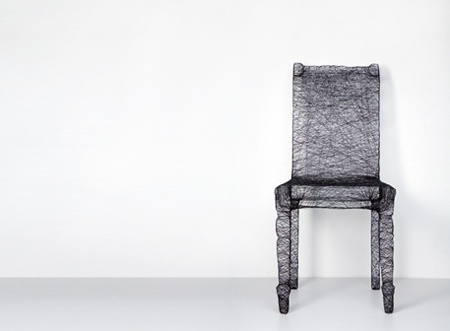 wrapped chair bu Pierre Kracht