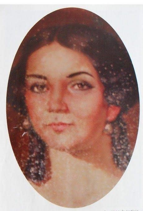 """Amante de Bolivar, Bernardina Ibañez, nacida en Ocaña.  El libertador la llamaba """"la melindrosa"""", fue una de tantas quinceañeras que lo coronaron en Bogotá, después de la batalla de Boyacá.  Se convirtió en amante de Bolivar, apesar de estar comprometida con el coronel patriota, Ambrosio Plaza."""
