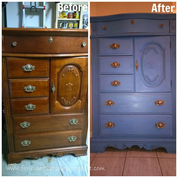 Here is the first in what I hope to be many projects over the next year that are for my own home! This grand chest of drawers is truly stunn...