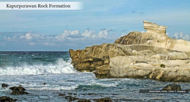 KAPURPURAWAN ROCK FORMATION 25 emerging Philippine tourism hot spots named - Yahoo! News Philippines