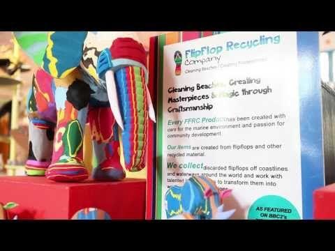 Ocean Sole: How to Turn FlipFlops into Art - YouTube
