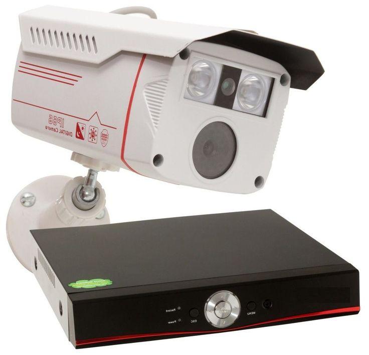 kit 4 cameras de segurança   dvr Full Hd 1080p rvnovidades