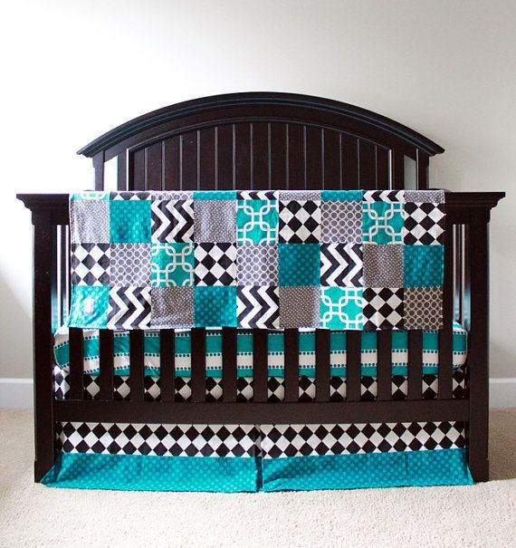 16 Remarkable Black And Turquoise Bedding Design Idea