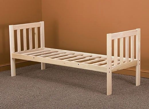 NEW MISSION DAY BED FRAME- Cot or Twin Size