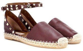 Valentino Garavani Rockstud espadrille sandals - $795.00