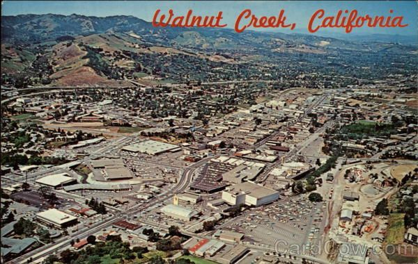 Walnut Creek California Vintage Postcards & Images