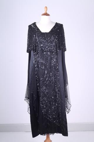 Vintage tøj - Selskabskjole 1920. L - Vintage kjoler fra 1920'erne - Vintage Divine - 1