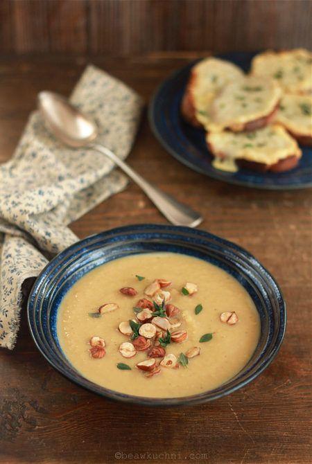 Zupa z pieczonego selera i jabłka | Bea w Kuchni