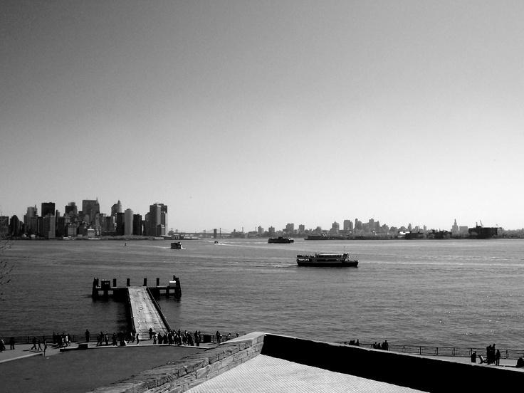 at Liberty Island