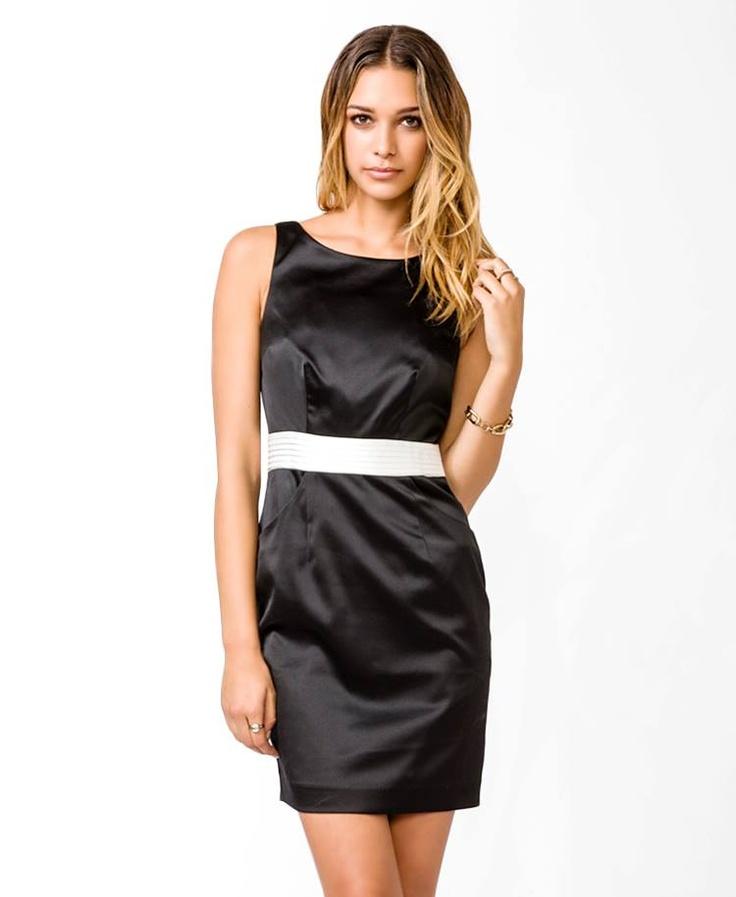 Vestido Negro F21 Talla: XS $19.900