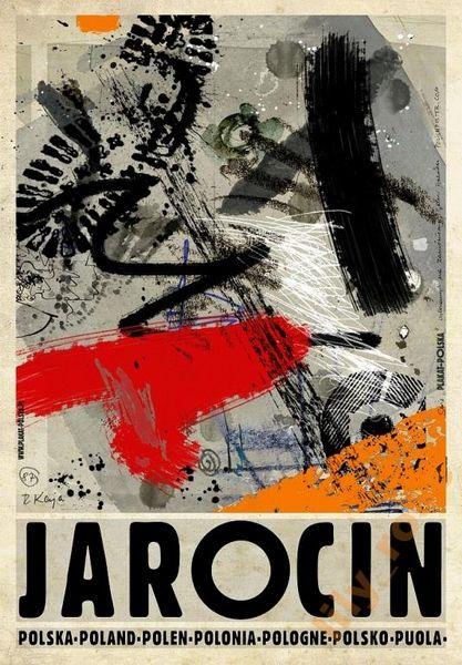 Jarocin, Poland Jarocin, Polska Kaja Ryszard Polish Poster