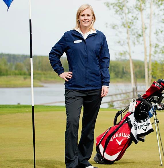 McMurray Girl Denise Olver at Miskanaw Golf Club. Photo: JM Photography