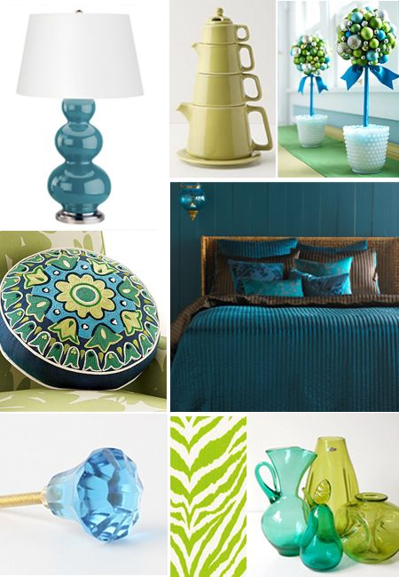 63 Best Teal & Chartreuse Images On Pinterest