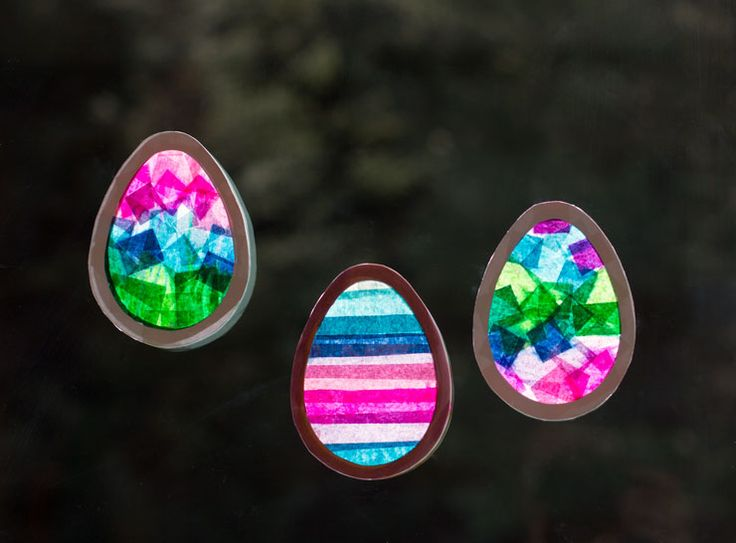 Stained Glass Window Egg DIY