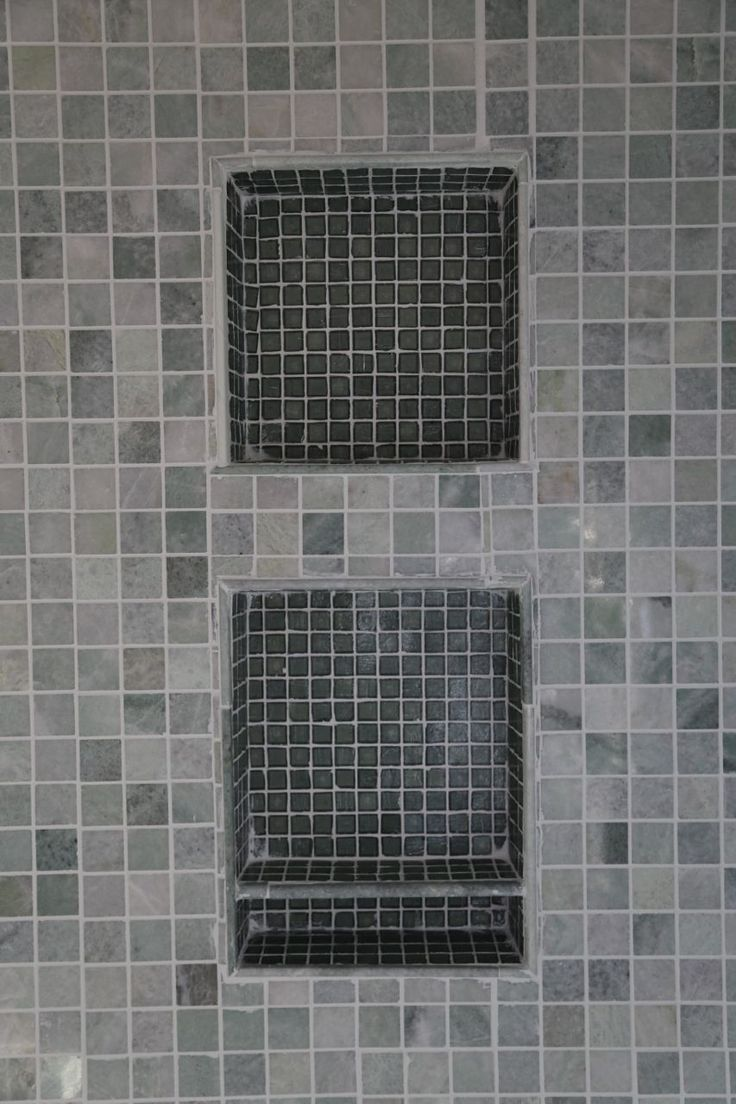 Shower Niche Tile Bathroom Ideas Pinterest Shower