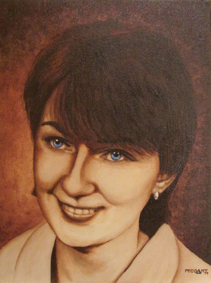 Zdenka by Peco Art ...Oil on canvas, 30x40cm...
