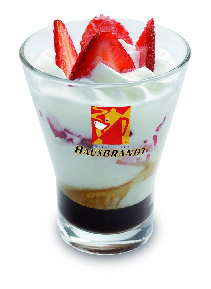 I cremosi al Latte Hausbrandt - Cuore di Fragola