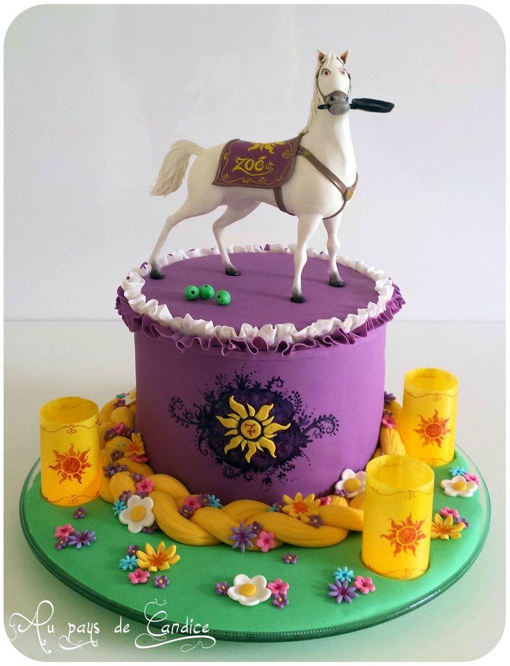Gâteau Maximus et Raiponce Maximus and Rapunzel Cake (Tangled)