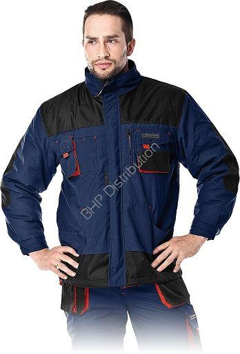 Granatowa kurtka robocza zimowa LH-FMNW-J_GBC
