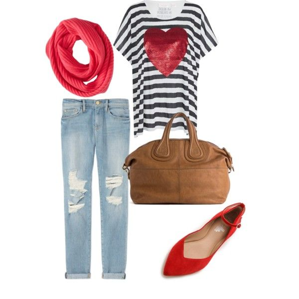 A fashion look from February 2015 featuring sass & bide t-shirts, Frame Denim jeans and belle by Sigerson Morrison flats. Browse and shop related looks.