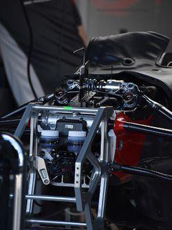 Haas F1 Team detalle del frente  2017/03/21 para 2017/03/25  Albert Park Circuit