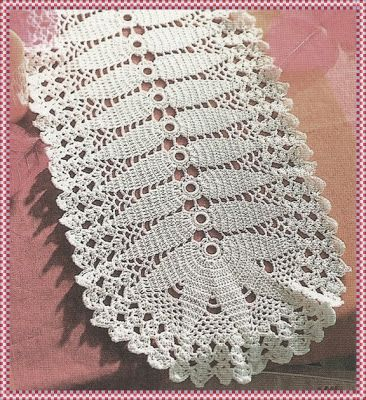 Mejores 81 im genes de toalhas trilhos croch en pinterest for Centros de mesa de ganchillo