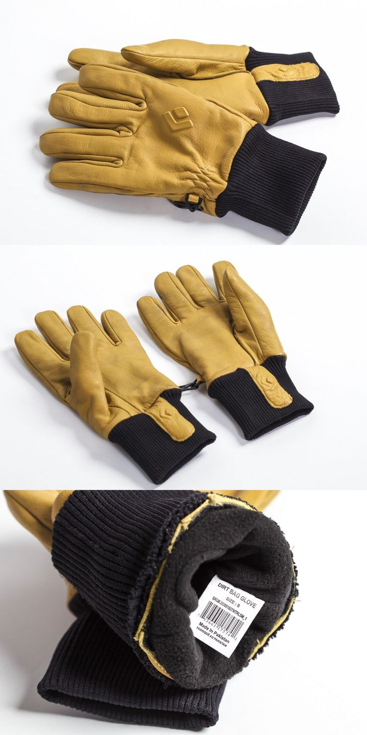 Other Camping Hiking Clothing 27362: Black Diamond Dirt Bag Belay Gloves - Small -> BUY IT NOW ONLY: $33 on eBay!