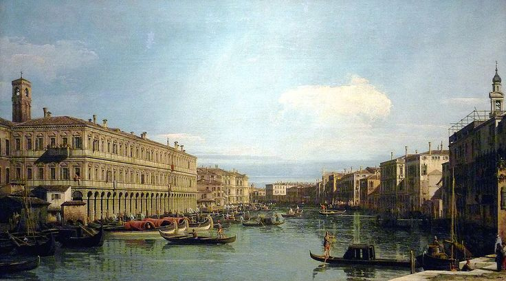 Canaletto - Grand canal de Venise , 1735 - Wallraf museum