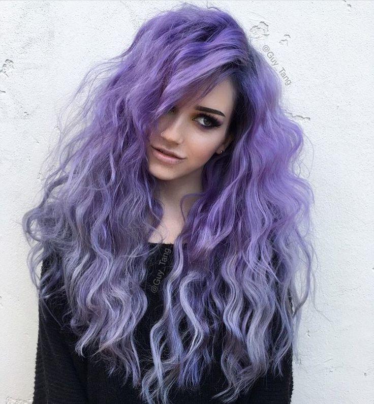 Pleasant 1000 Ideas About Purple Hair On Pinterest Scene Hair Hair And Short Hairstyles Gunalazisus