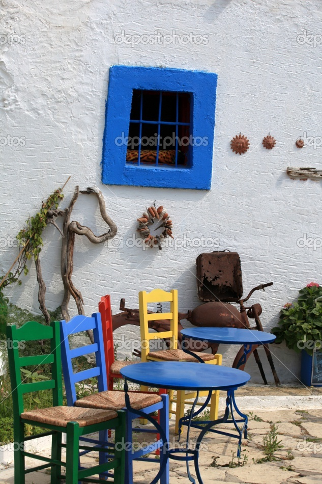 Village of Zia on the Dodecanese island of Kos, Greece