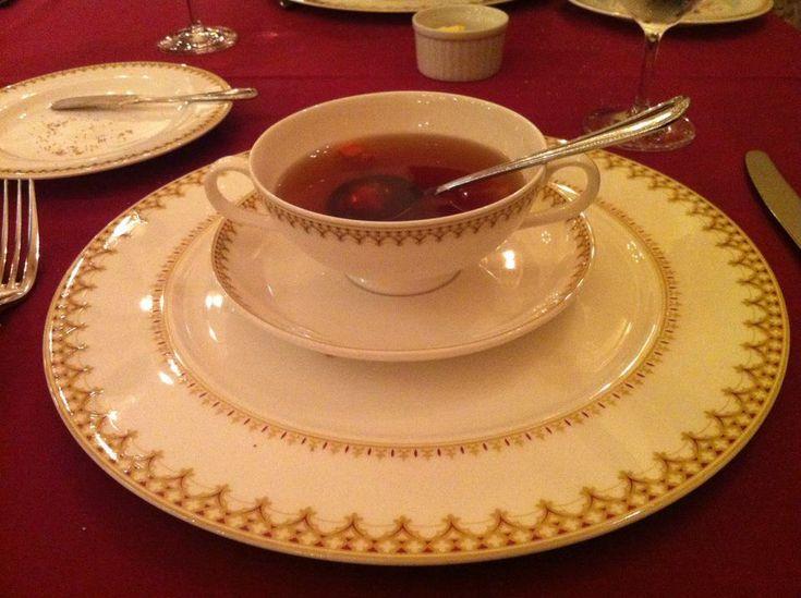 Onion soup at Magellan's, Disneysea. Magellan's is one of the fanciest restaurants at TDR.