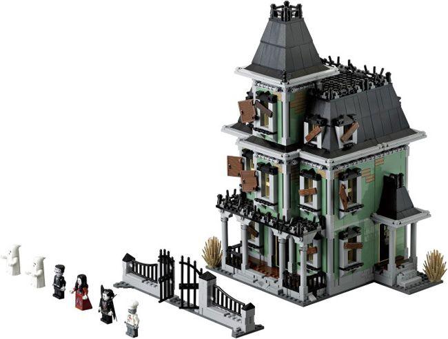 La casa encantada de Lego.