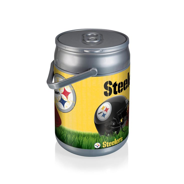 Pittsburgh Steelers Football Can Cooler