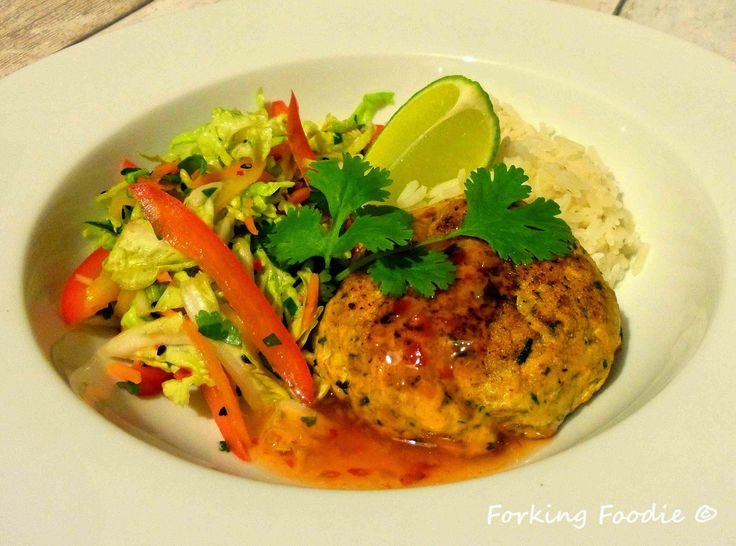Forking Foodie: Thai Spiced Salmon Fishcakes (includes Thermomix method)