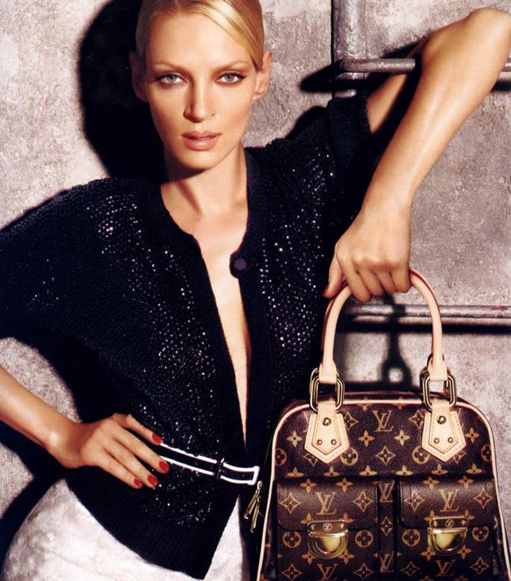 Louis Vuitton Spring 2005. Uma Thurman | Fashion Ads 2005 ...