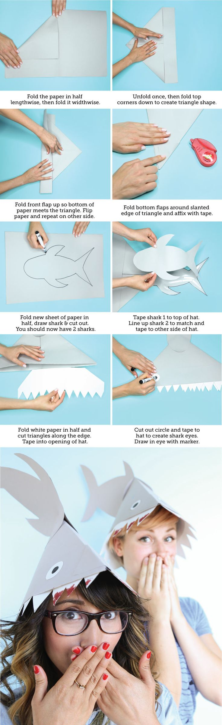 Literally Nothing is Better Than This Shark Hat DIY