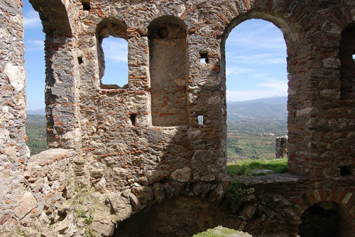 Mystras fortress, Greece.  13th c.