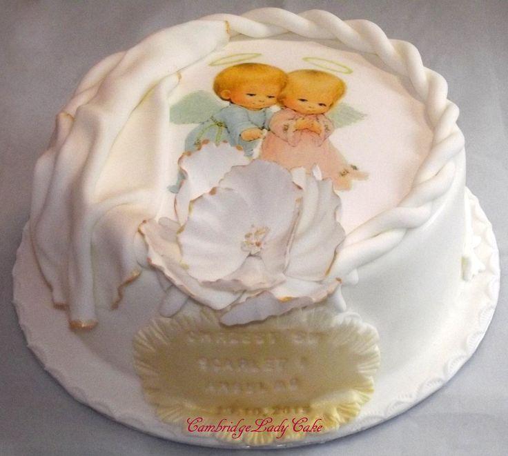 Christetning cake