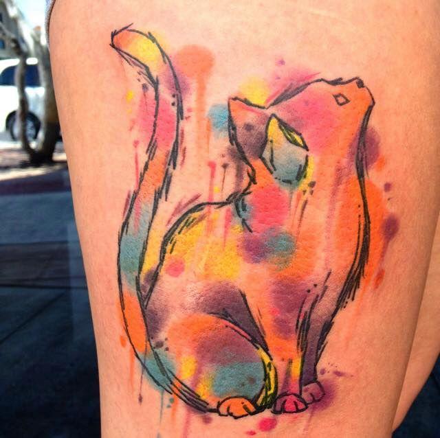 A new cat tattoo!