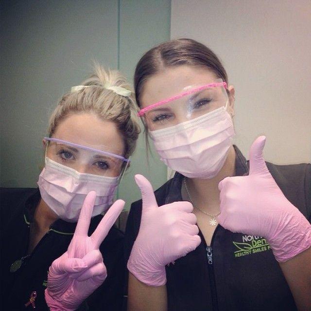 Dentist Mask And Gloves Glasses